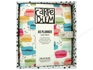 Simple Stories Collection Carpe Diem A5 Planner Color Wash