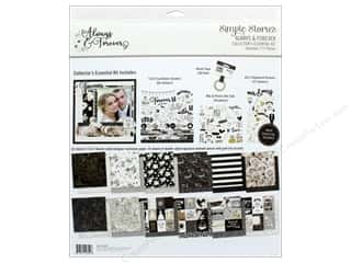 Simple Stories Collection Always & Forever Collector's Essential Kit