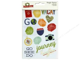 scrapbooking & paper crafts: Simple Stories Collection Travel Notes Sticker Clear