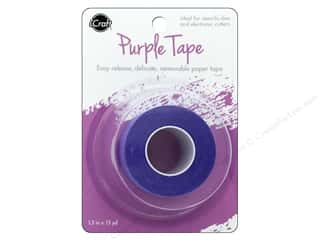 glues, adhesives & tapes: iCraft Mixed Media Tape Removable 1.5 in. x 15 yd Purple