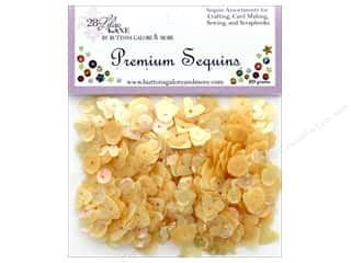craft & hobbies: Buttons Galore 28 Lilac Lane Premium Sequins Butter