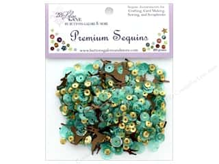 Buttons Galore 28 Lilac Lane Premium Sequins Reindeer