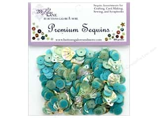 craft & hobbies: Buttons Galore 28 Lilac Lane Premium Sequins Sea
