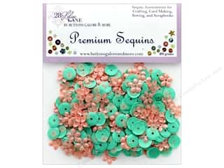 craft & hobbies: Buttons Galore 28 Lilac Lane Premium Sequins Blossom