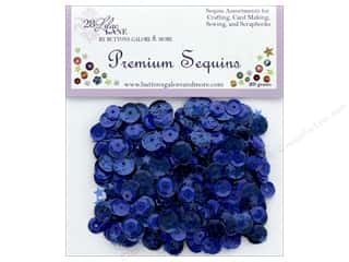 craft & hobbies: Buttons Galore 28 Lilac Lane Premium Sequins Lagoon