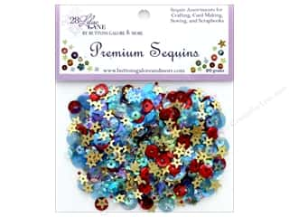 craft & hobbies: Buttons Galore 28 Lilac Lane Premium Sequins Picnic