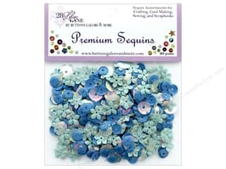 Buttons Galore 28 Lilac Lane Premium Sequins Sky