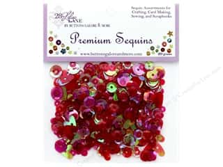 craft & hobbies: Buttons Galore 28 Lilac Lane Premium Sequins Fire