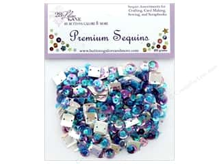 Buttons Galore 28 Lilac Lane Premium Sequins Gemstone