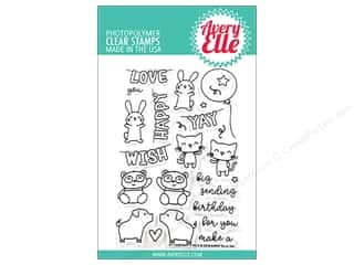 Avery Elle Clear Stamp Party Pals