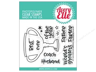 stamp cleaned: Avery Elle Clear Stamp World's Greatest