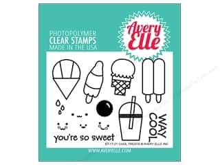 Avery Elle Clear Stamp Cool Treats