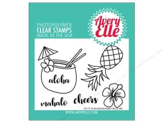 Avery Elle Clear Stamp Aloha