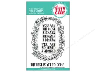 Avery Elle Clear Stamp Loved & Admired