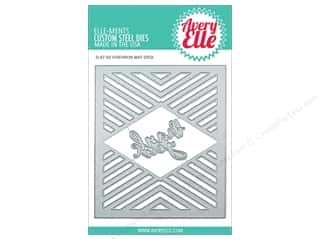 die cutting machines: Avery Elle Die Elle-Ments Chevron Mat