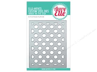 die cutting machines: Avery Elle Die Elle-Ments Polka Plate