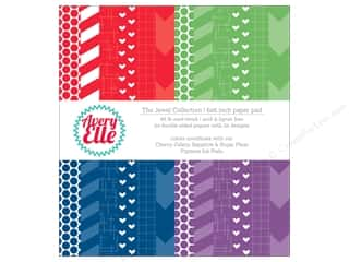 """Avery Elle Paper Pad 6""""x 6"""" Printed Collection Jewel"""