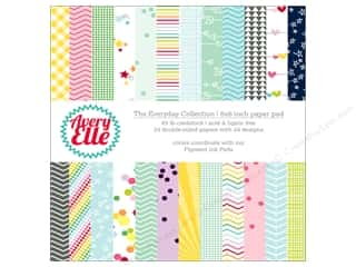 avery elle paper: Avery Elle Paper Pad 6 in. x 6 in.  Printed Collection Everyday