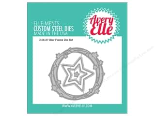star die: Avery Elle Die Elle-Ments Frame Star
