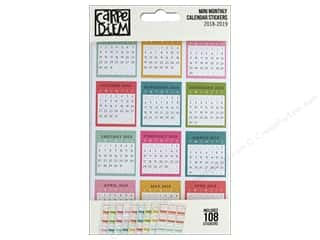 Clearance: Simple Stories Collection Carpe Diem Sticker Mini Monthly