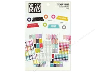 scrapbooking & paper crafts: Simple Stories Collection Carpe Diem A5 Sticker Tabs