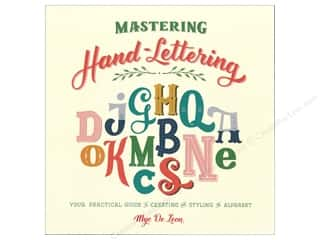 books & patterns: Skyhorse Publishing Mastering Hand-Lettering Book