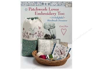 That Patchwork Place Patchwork Loves Embroidery Too Book