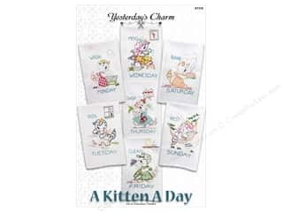 Yesterday's Charm A Kitten A Day Pattern