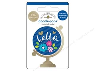 Doodlebug Collection Hello Doodle Pops Hello World
