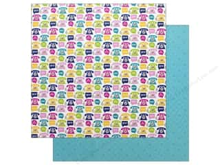 Clearance: Doodlebug Collection Hello Paper 12 in. x 12 in. Hello There (25 pieces)