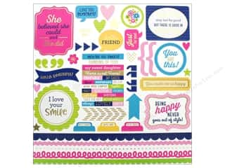 Doodlebug Collection Hello Sticker This & That (12 pieces)