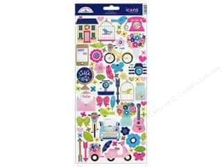 bird sticker: Doodlebug Collection Hello Sticker Icons (12 sets)