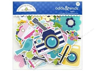 die cuts: Doodlebug Collection Hello Odds & Ends
