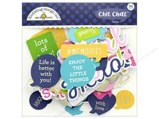 die cuts: Doodlebug Collection Hello Chit Chat