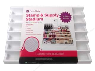 scrapbooking & paper crafts: Totally Tiffany Desk Maid Stamp Stadium 6 Level