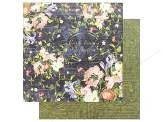 Graphic 45 Collection Floral Shoppe Paper 12 in.x 12 in. Midnight Medley (25 pieces)