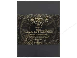 Graphic 45 Staples Album Tag & Pocket Rectangle