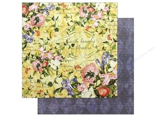 Graphic 45 Collection Floral Shoppe Paper 12 in. x 12 in. Sunlit Medley (25 pieces)