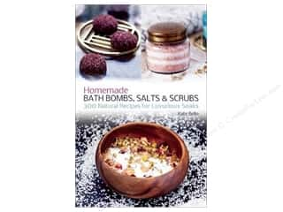 Ulysses Press Homemade Bath Bombs Salts & Scrubs Book