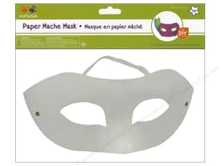 elastic: Multicraft Krafty Kids DIY Paper Mache Mask With Band