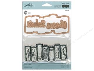 die cutting machines: Spellbinders Stamp & Die Wine Corks