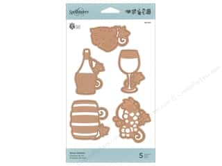die cutting machines: Spellbinders Die Shapeabilites Wine Charms