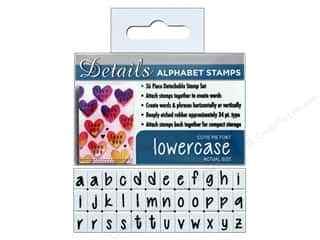 stamps: Contact USA Clickable Stamp Set 36 pc Lower Case Cutie Pie