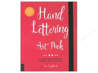 scrapbooking & paper crafts: Quarry Hand Lettering Art Pack Book