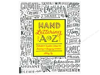 scrapbooking & paper crafts: Rockport Hand Lettering A to Z Book