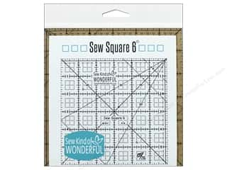 quilt rectangular square ruler: Sew Kind Of Wonderful Ruler Sew Square 6