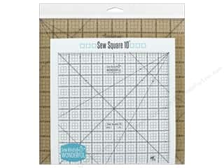 quilt rectangular square ruler: Sew Kind Of Wonderful Ruler Sew Square 10