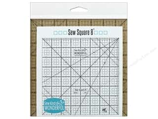 quilt rectangular square ruler: Sew Kind Of Wonderful Ruler Sew Square 8