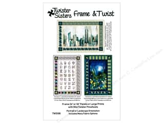 books & patterns: Twister Sisters Frame & Twist Pattern