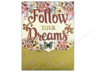Punch Studio Note Pad Pocket Follow Your Dreams